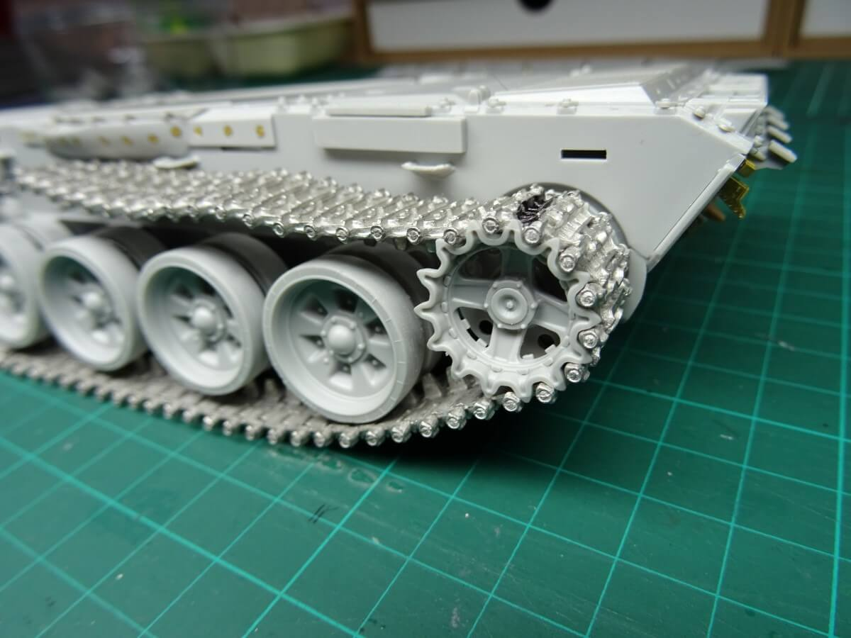 T-72B UN Mission UNTAES